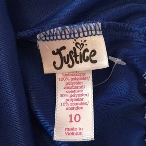Justice Bottoms - Justice blue softball active shorts